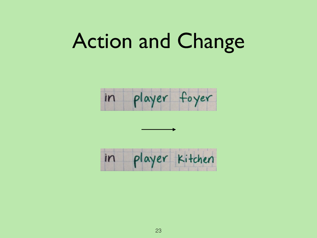 23 Action and Change
