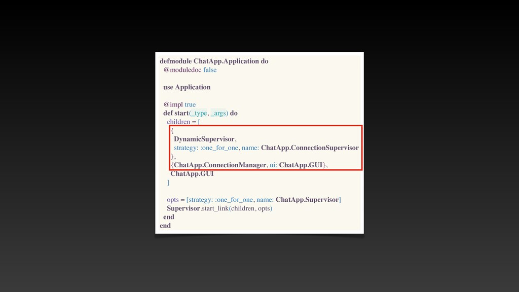 defmodule ChatApp.Application do @moduledoc fal...