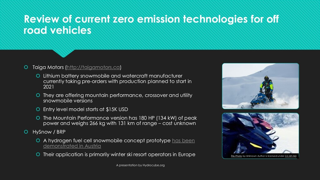 Review of current zero emission technologies fo...