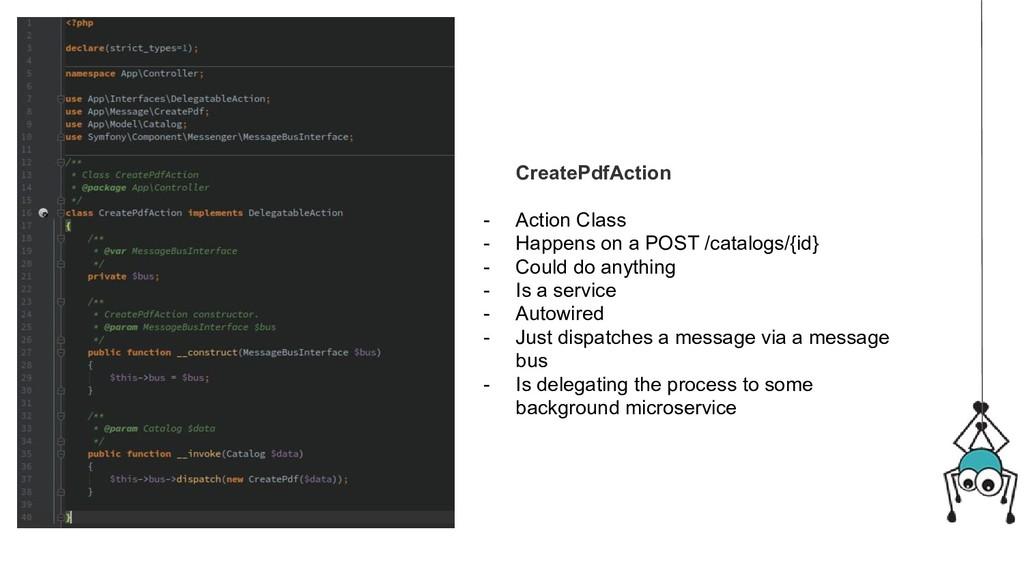 CreatePdfAction - Action Class - Happens on a P...