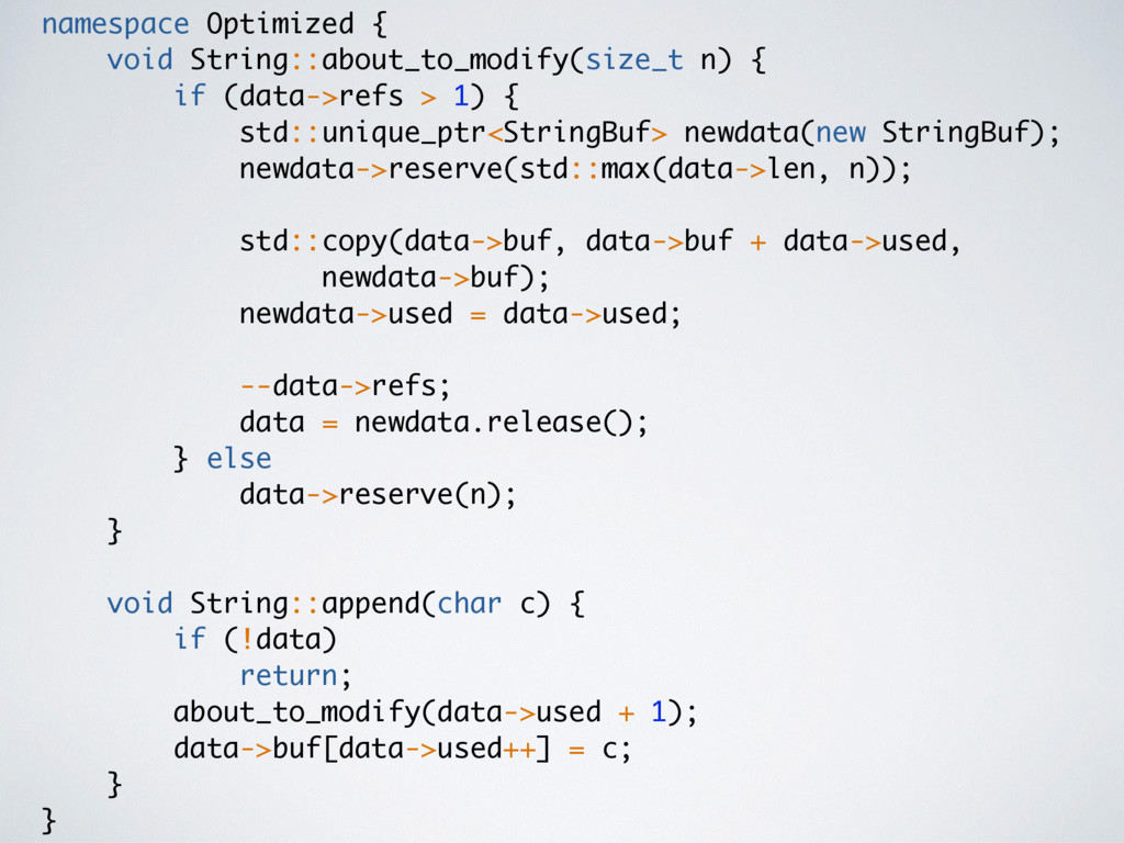 namespace Optimized { void String::about_to_mod...