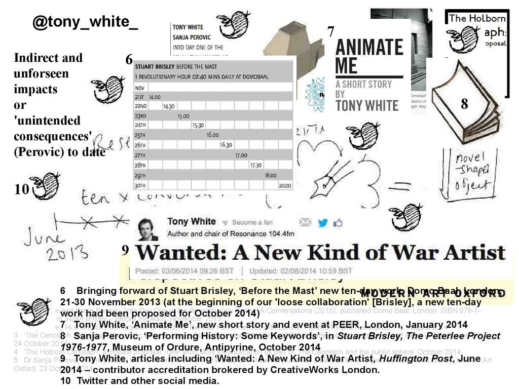 @tony_white_ 1 Tony White and Sanja Perovic, 'I...