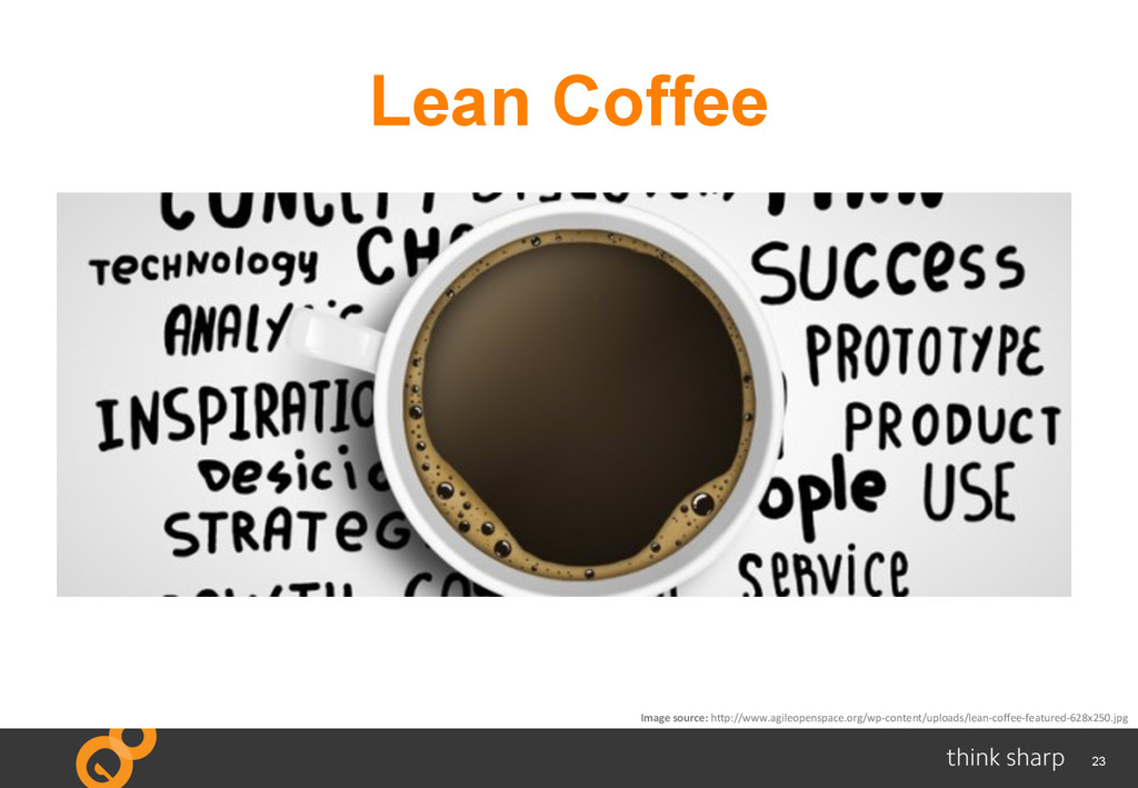 23 Lean Coffee Image	