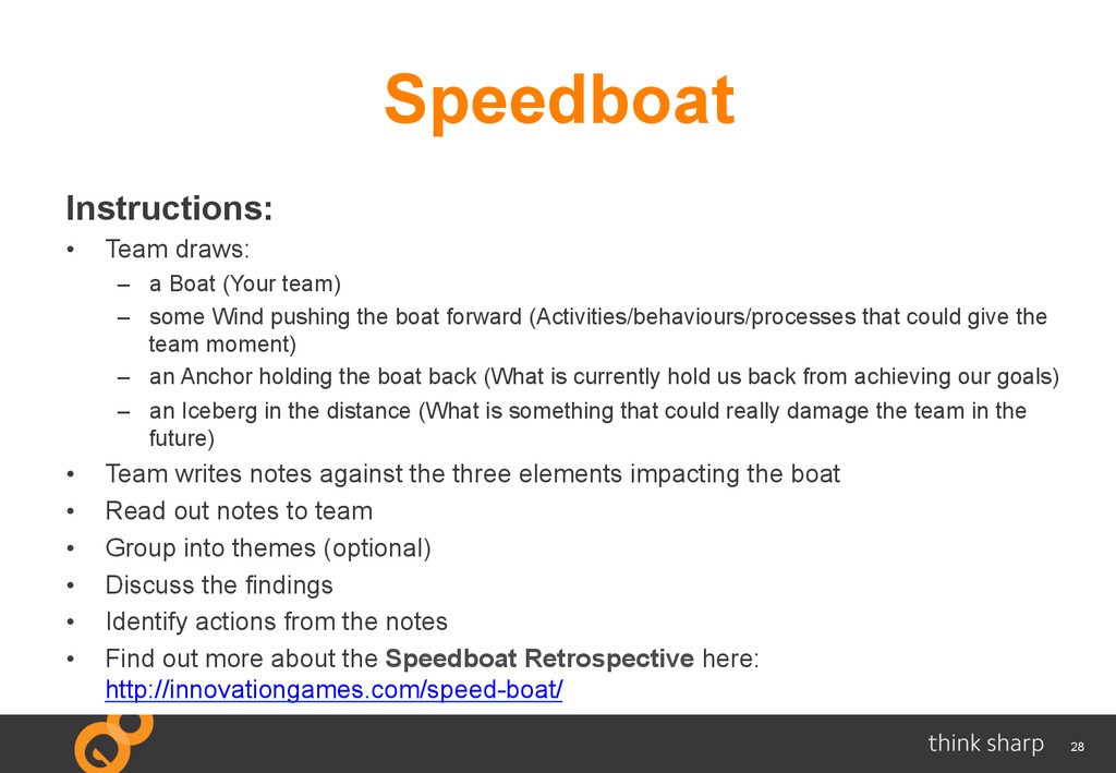 28 Instructions: •  Team draws: –  a Boat (Your...