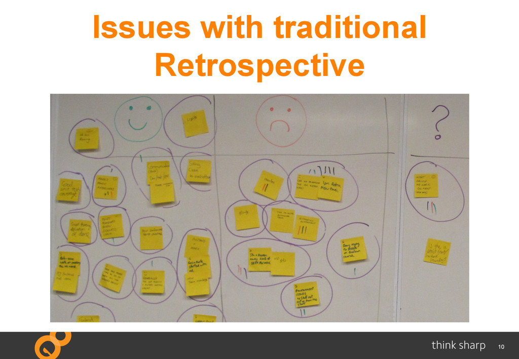 10 Issues with traditional Retrospective