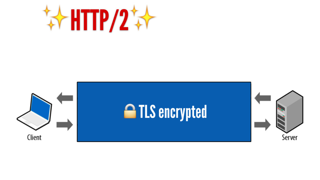 ✨HTTP/2✨ TLS encrypted