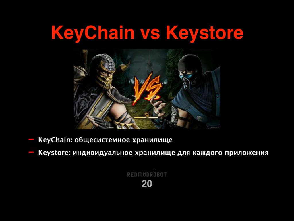 KeyChain vs Keystore 20 - KeyChain: общесистемн...