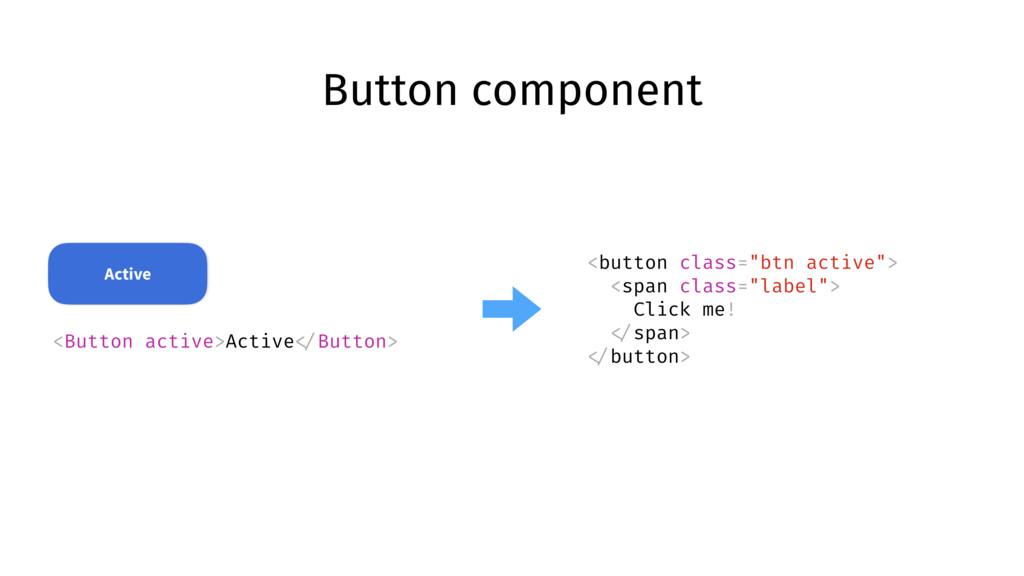 Button component <Button active>Active </Button...