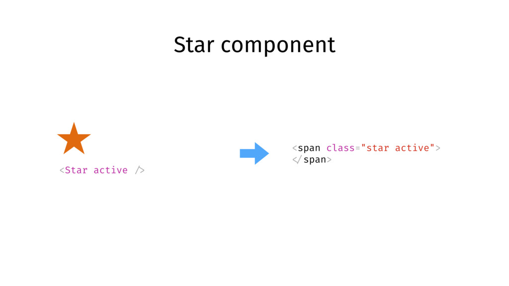 """Star component <span class=""""star active""""> </spa..."""