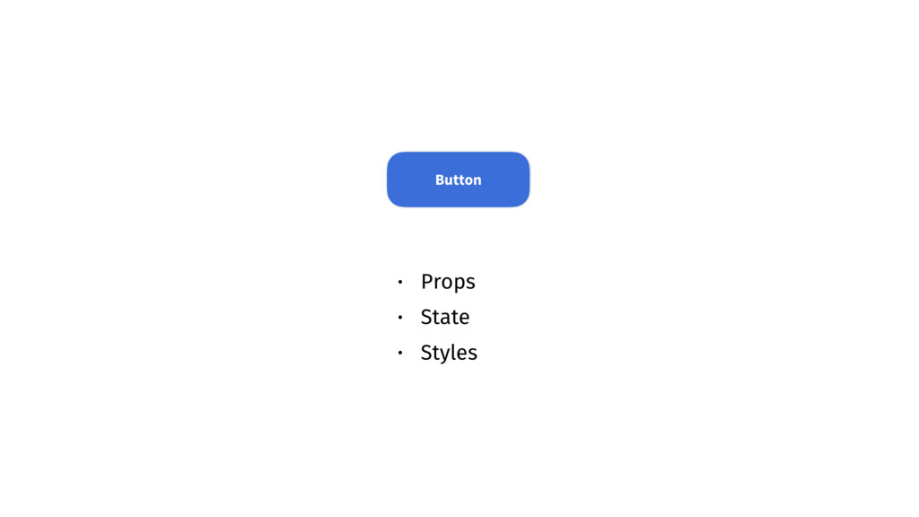 • Props • State • Styles Button
