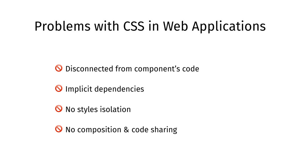 Problems with CSS in Web Applications  Disconne...