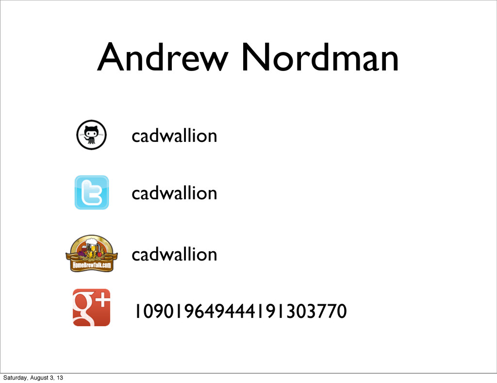 Andrew Nordman cadwallion cadwallion cadwallion...