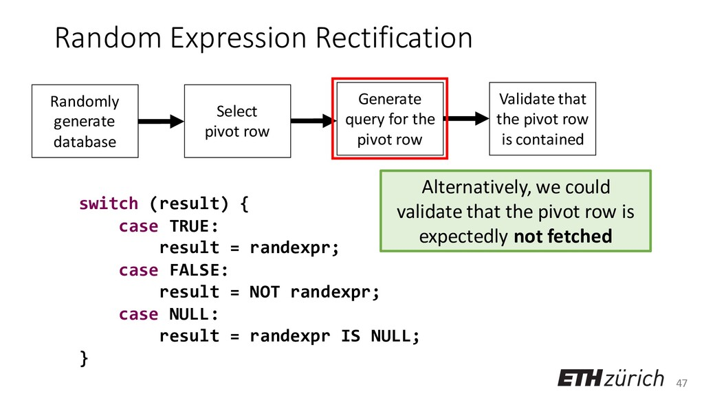 47 Random Expression Rectification switch (resu...