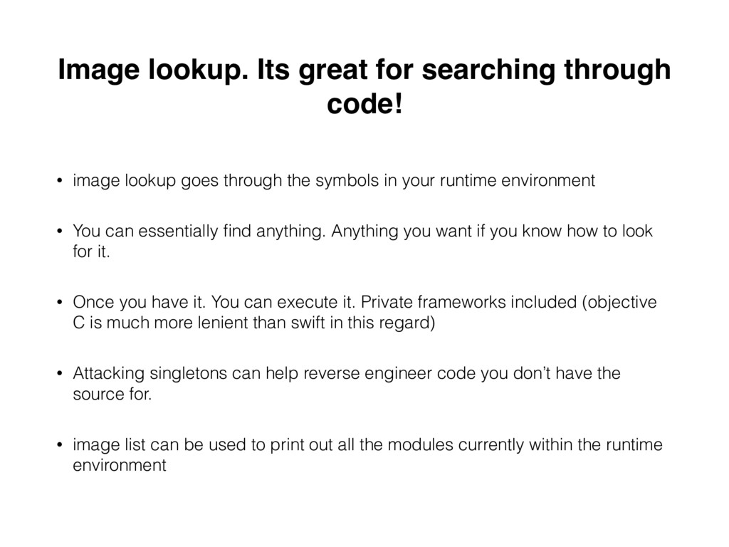 Image lookup. Its great for searching through c...