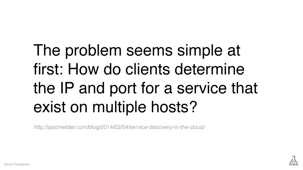 The problem seems simple at first: How do client...