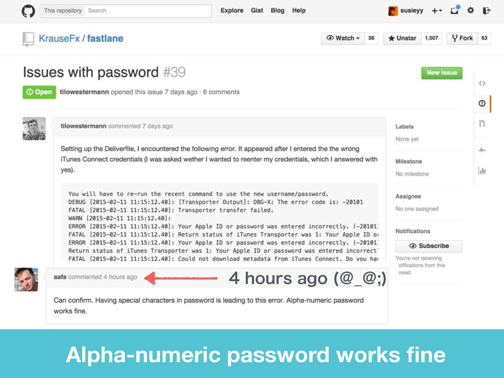 IPVSTBHP ˏ@ˏ  Alpha-numeric password works...