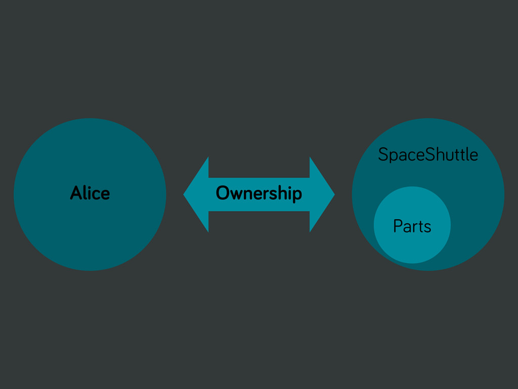 Alice Ownership SpaceShuttle Parts