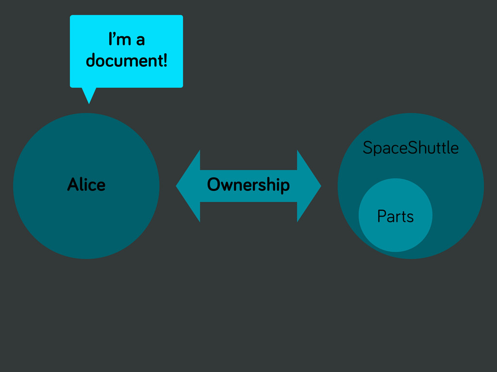 Alice Ownership SpaceShuttle Parts I'm a docume...