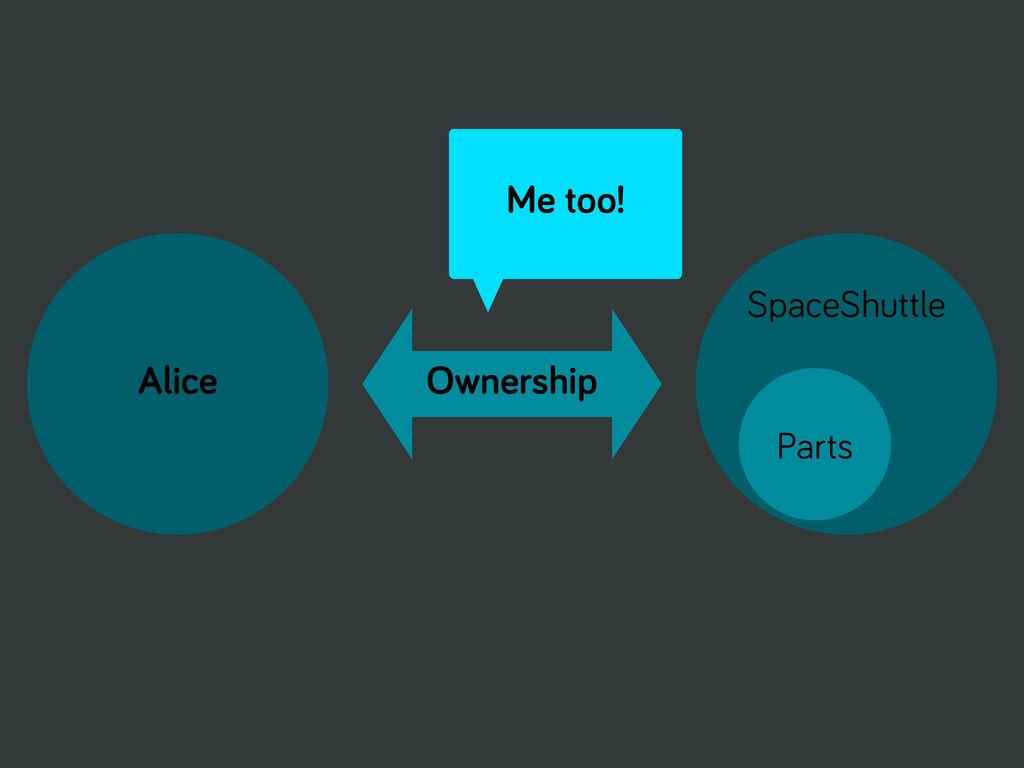 Alice Ownership SpaceShuttle Parts Me too!