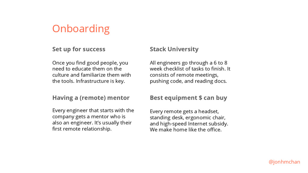 Onboarding Set up for success Once you find goo...