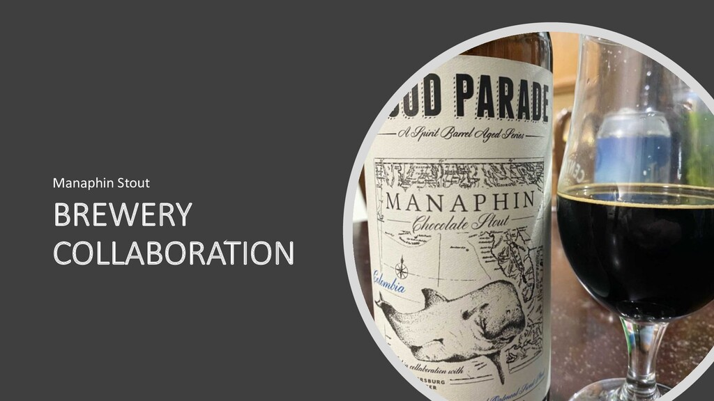BREWERY COLLABORATION Manaphin Stout