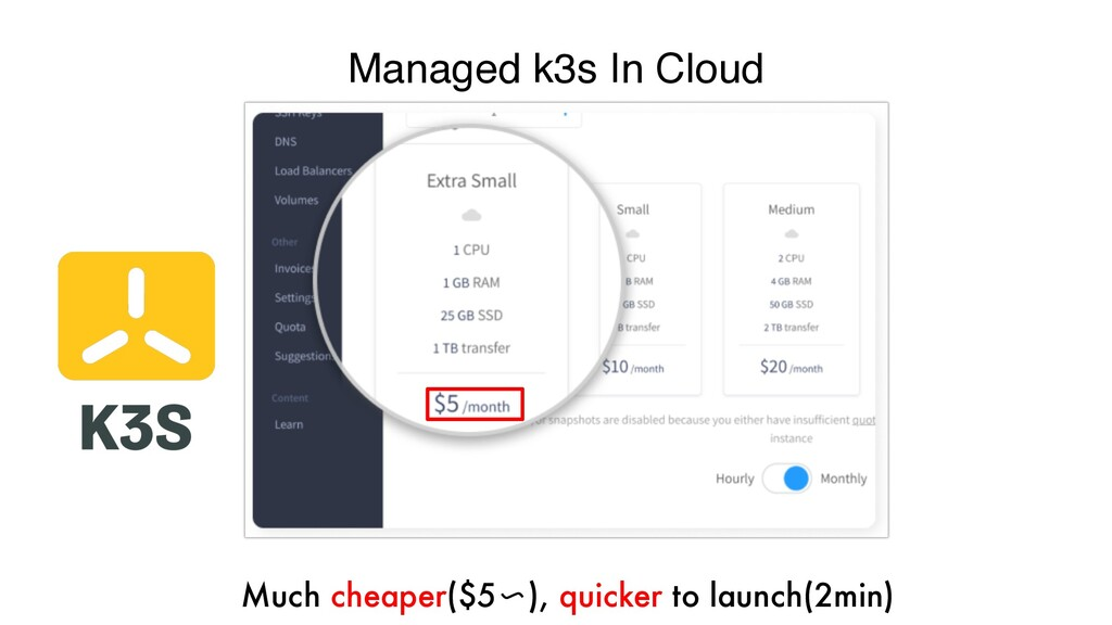Managed k3s In Cloud A learning playground, dev...