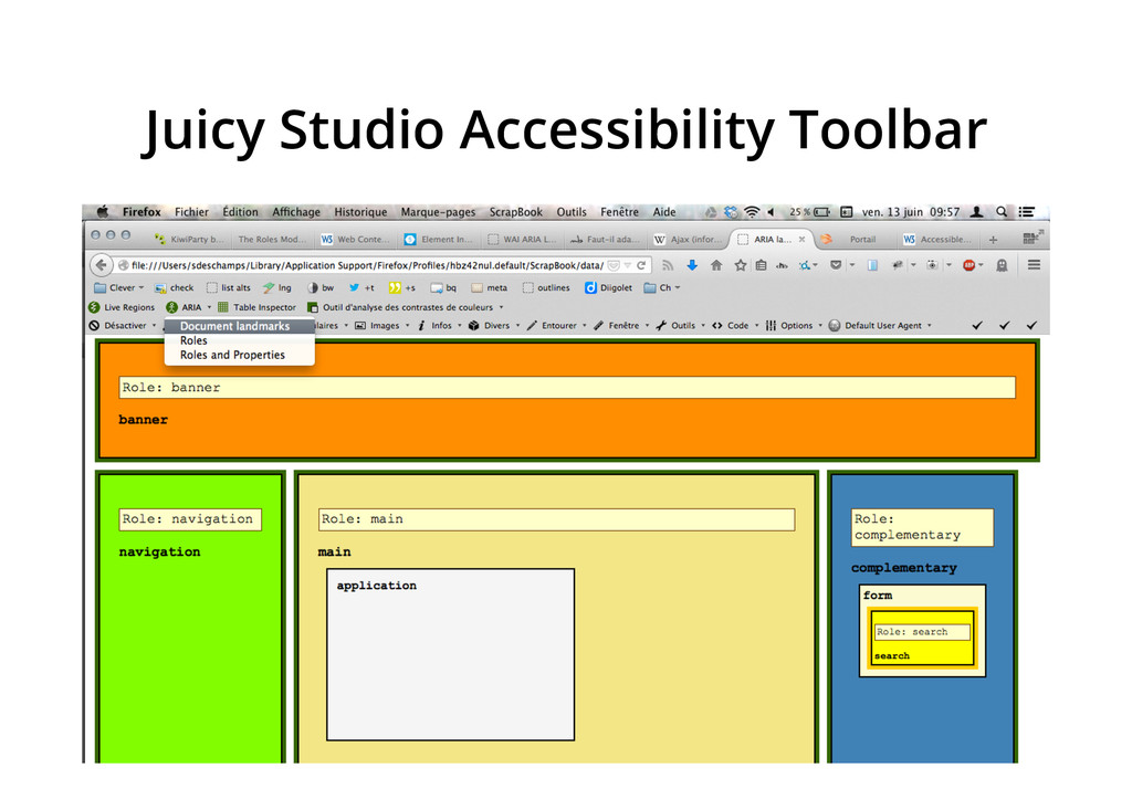 Juicy Studio Accessibility Toolbar
