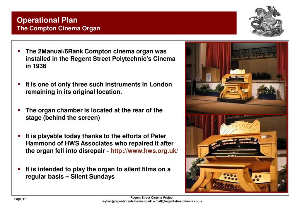 Page 17 Regent Street Cinema Project rayhan@reg...