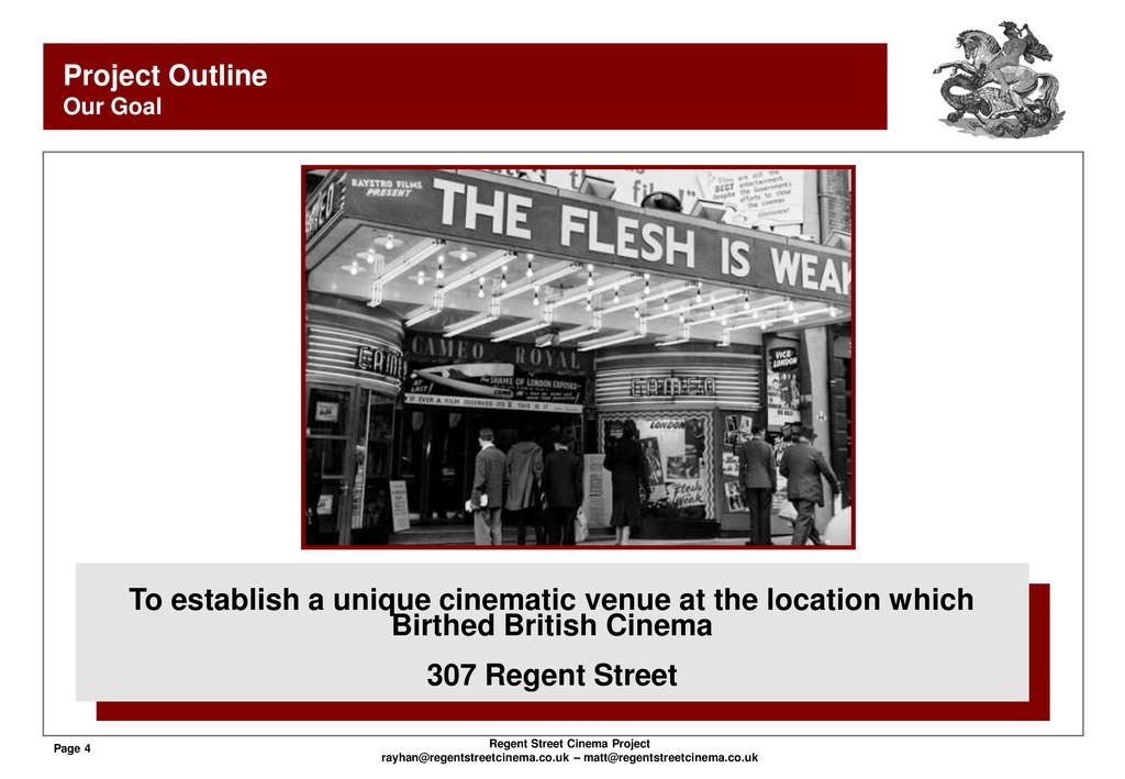 Page 4 Regent Street Cinema Project rayhan@rege...