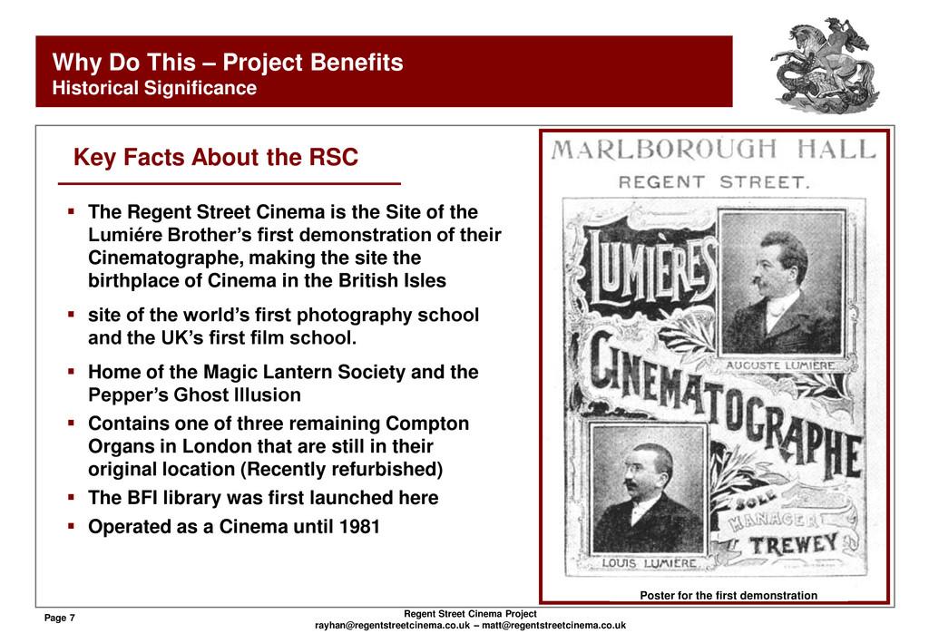 Page 7 Regent Street Cinema Project rayhan@rege...