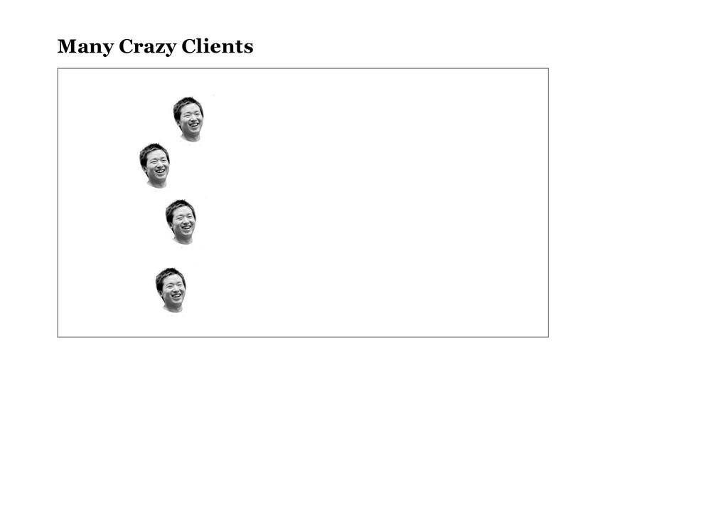 Many Crazy Clients