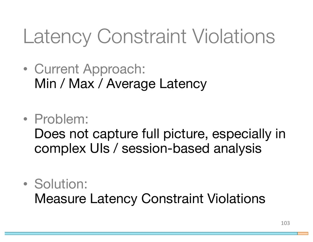 Latency Constraint Violations • Current Approac...