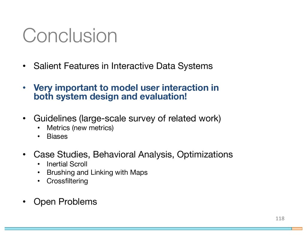 Conclusion • Salient Features in Interactive Da...