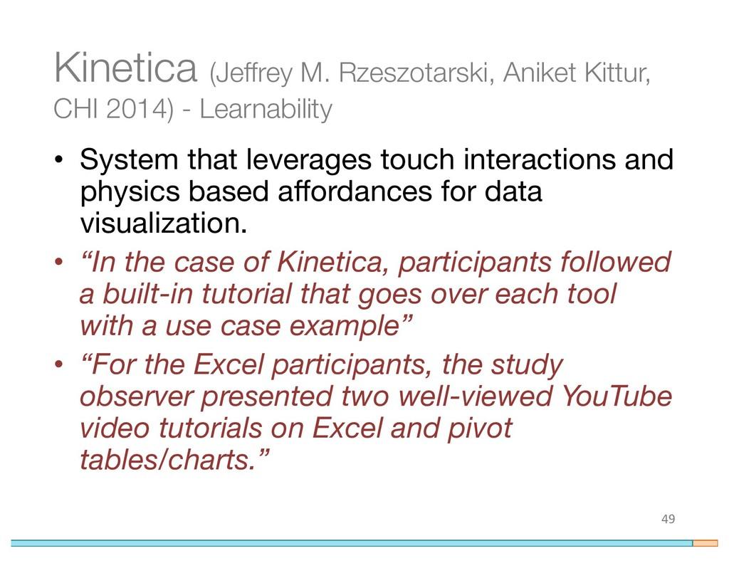 Kinetica (Jeffrey M. Rzeszotarski, Aniket Kittu...