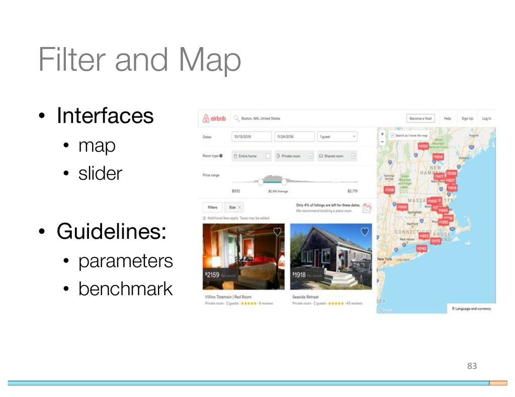 Filter and Map • Interfaces • map • slider • Gu...