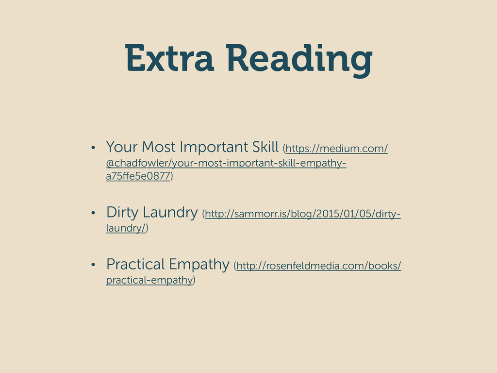 Extra Reading • Your Most Important Skill (http...