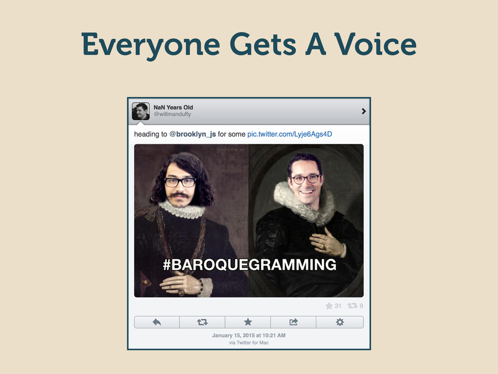 Everyone Gets A Voice