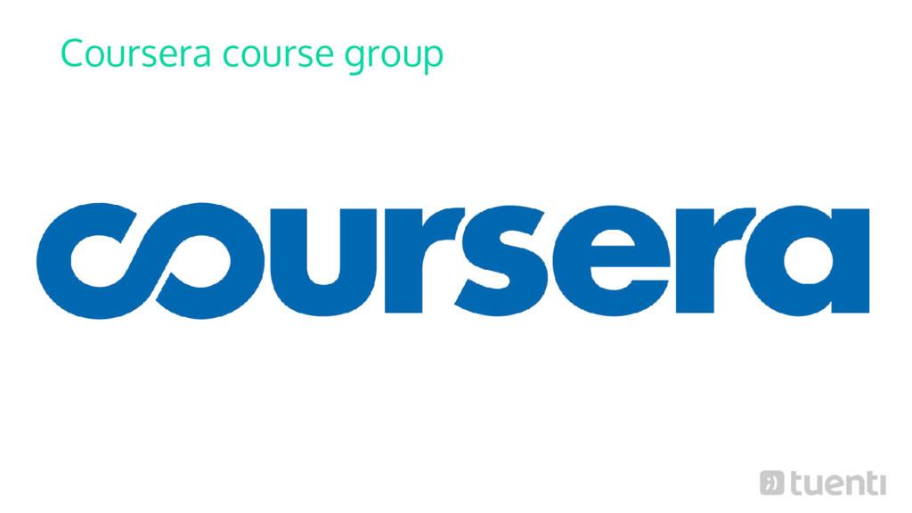 Coursera course group
