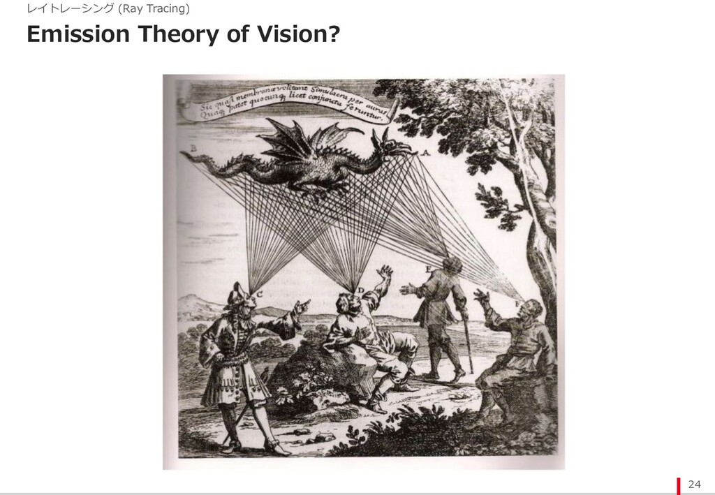 Emission Theory of Vision? 24 レイトレーシング (Ray Tra...