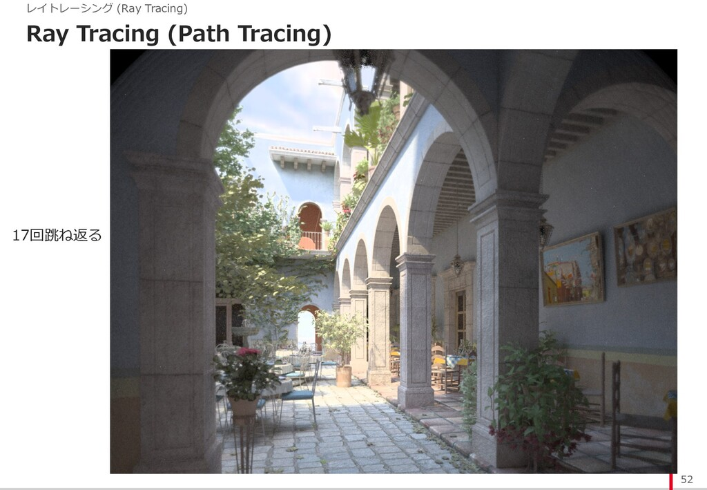 Ray Tracing (Path Tracing) 52 レイトレーシング (Ray Tra...
