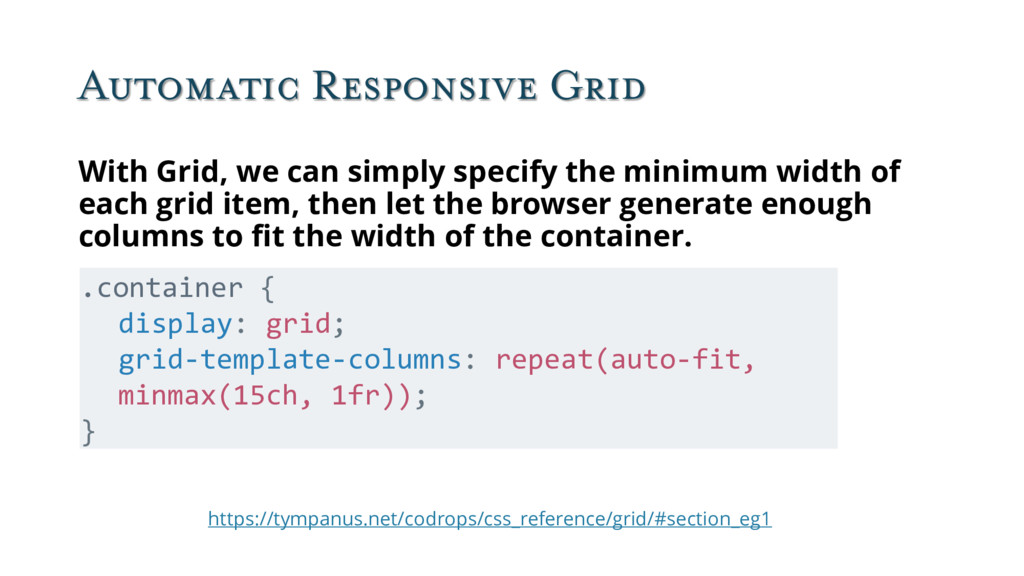 Automatic Responsive Grid https://tympanus.net/...