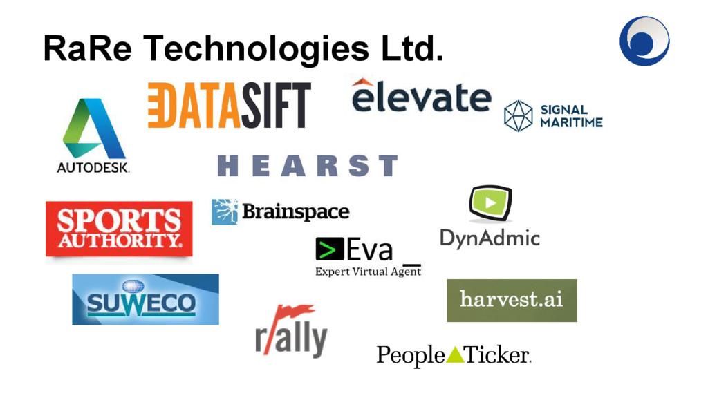 RaRe Technologies Ltd.