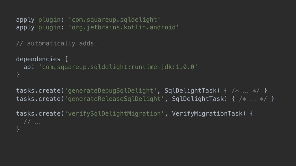 tasks.getByName('compileDebugKotlin').dependsOn...