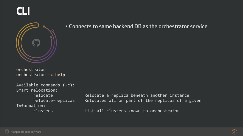 How people build software ! 21 orchestrator orc...