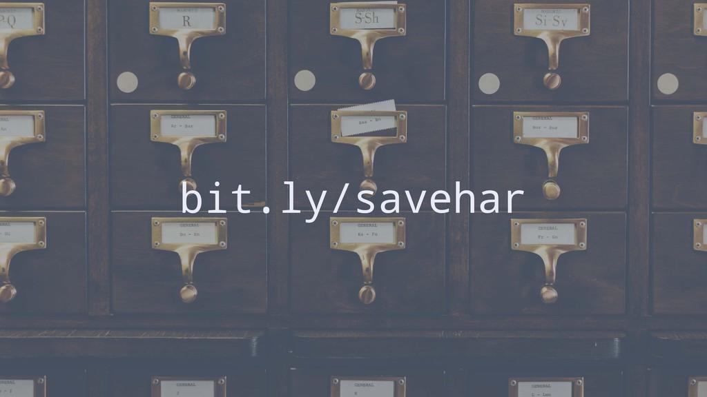 bit.ly/savehar
