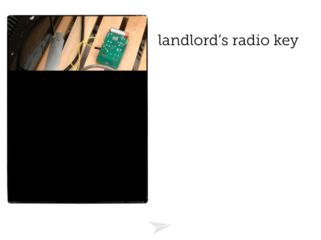 landlord's radio key
