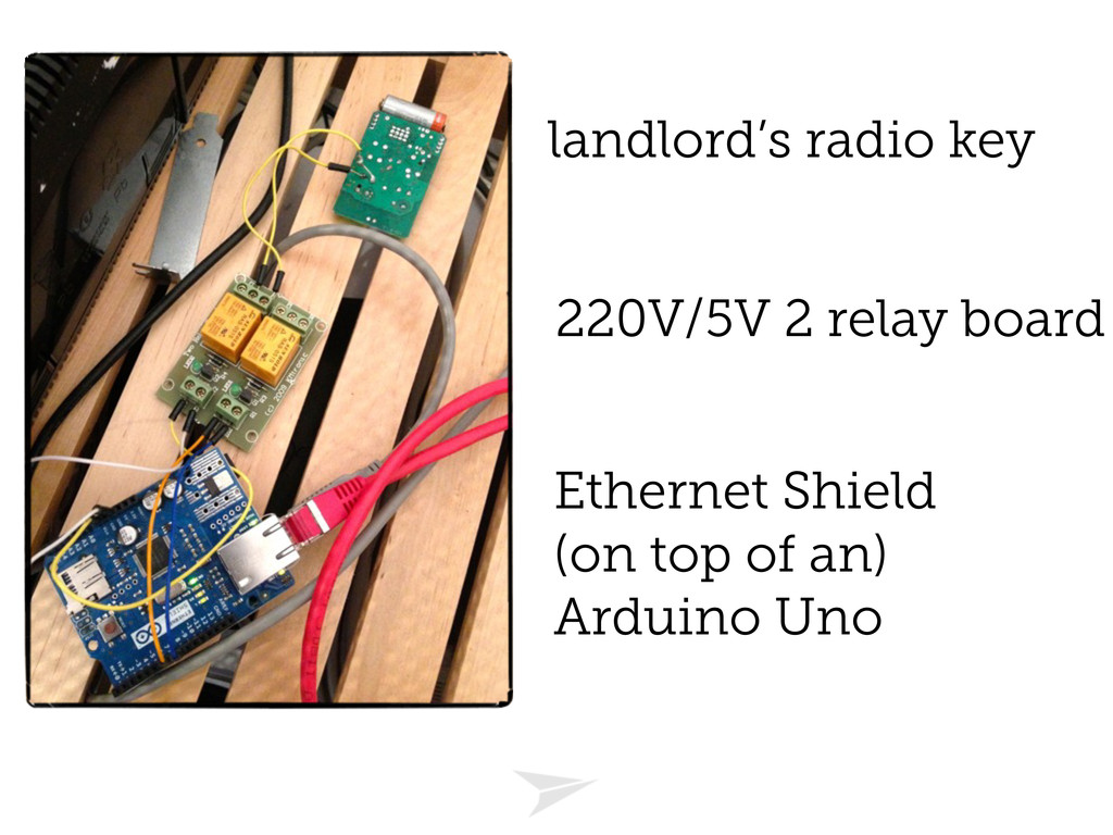 Ethernet Shield (on top of an) Arduino Uno 220V...