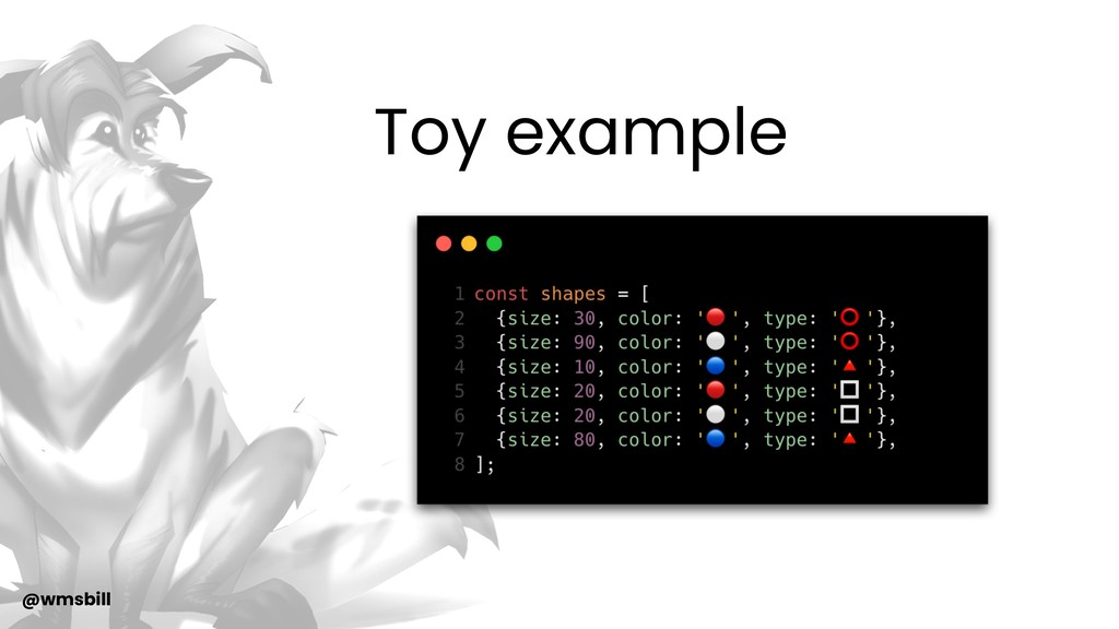 @wmsbill Toy example