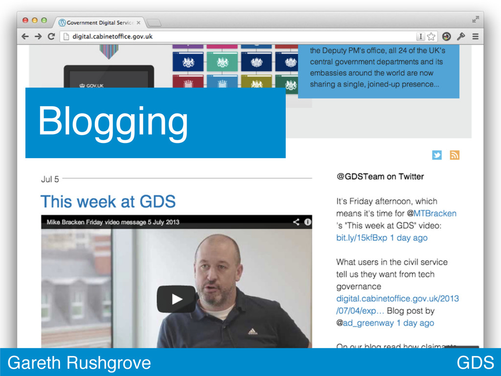 GDS Gareth Rushgrove Blogging