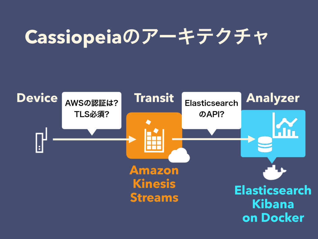CassiopeiaͷΞʔΩςΫνϟ Device Analyzer Transit Amaz...
